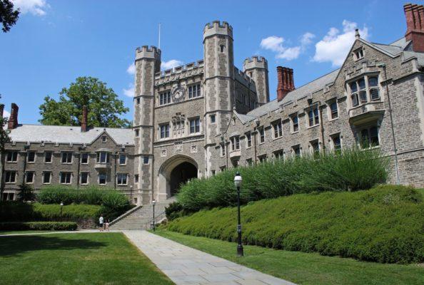 học bổng đại học Princeton University