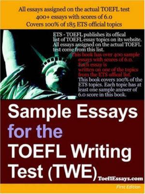 Sample essay for the TOEFL Writting test