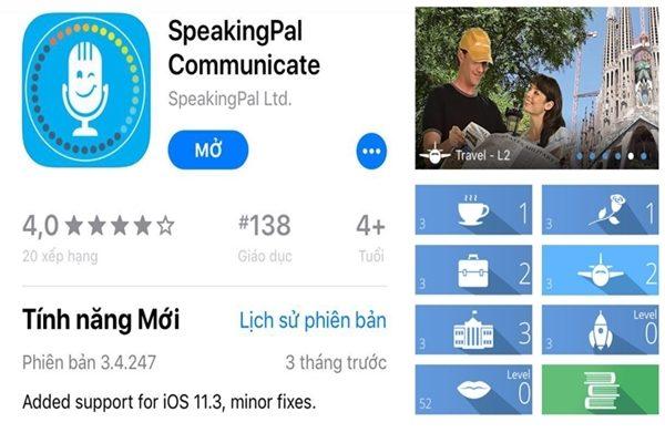 phan men tieng anh cap 2 SpeakingPal