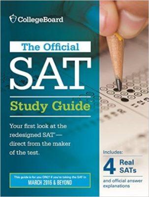 sách luyện thi SAT