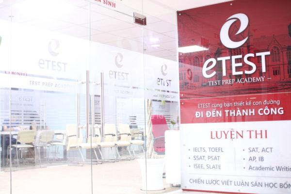 Trung tâm anh ngữ du học ETEST 1