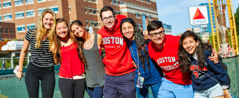 học bổng du học Boston University